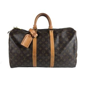 Louis Vuitton Monogram Keepall Duffle Bag